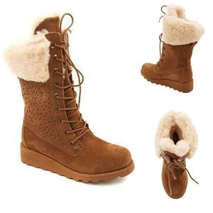 BEARPAW Kylie Winter Water Resistant Boots Girls 4